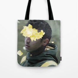 TOP Trench Era Floral Artwork Tote Bag