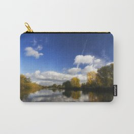 Autumn on the River Thames Carry-All Pouch