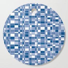 Mod Gingham - Blue Cutting Board