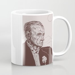 Fred Astaire in Moon Luminance Coffee Mug