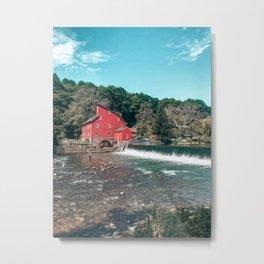 Red Mill Clinton Metal Print