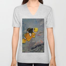 Clownfish Unisex V-Neck