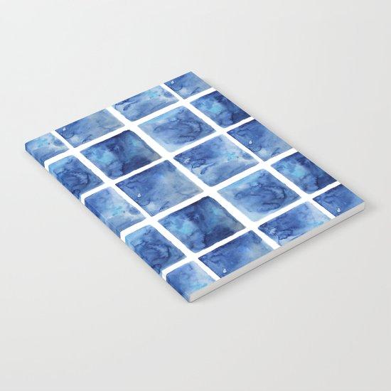 Watercolor mosaic Notebook