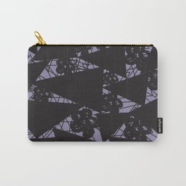 Scribbles and Triangles Carry-All Pouch