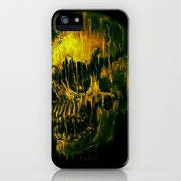 Melting Skull iPhone Case