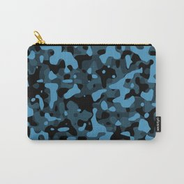 Dark Blue Camo Carry-All Pouch