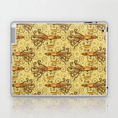 Steampunk Squid Transport Laptop & iPad Skin