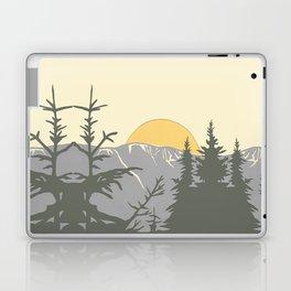 Ski Mountain Sun and Trees - Breckenridge  Laptop & iPad Skin