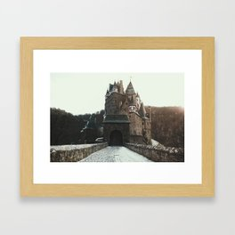 Finally, a Castle - landscape photography Framed Art Print