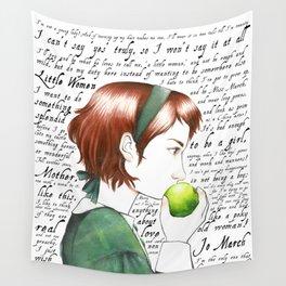 Jo March - Little Women Wall Tapestry