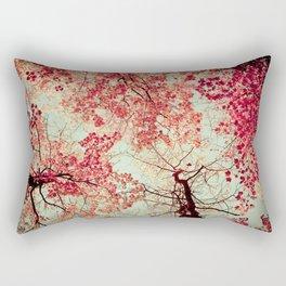 Autumn Inkblot Rectangular Pillow
