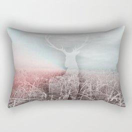 Frozen grass Rectangular Pillow