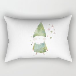 Bird Elf Rectangular Pillow