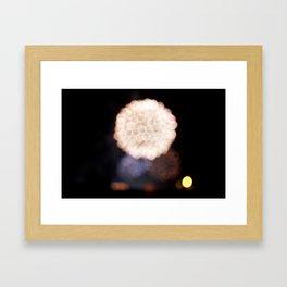 fireworks II Framed Art Print