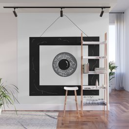 Eye in Frame Wall Mural