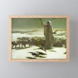 Famine John Charles Dollman 1904 Framed Mini Art Print