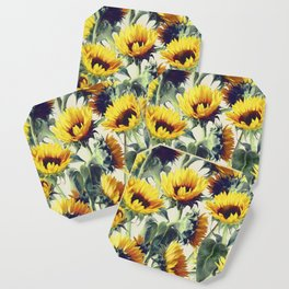 Sunflowers Forever Coaster