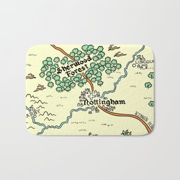 Sherwood Forest Bath Mat