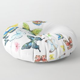 Butterflies 03 Floor Pillow