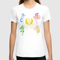 sailor moon T-shirts featuring Sailor Scouts / Sailor Moon by Sara Eshak