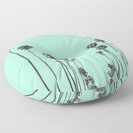 Palm Trees 9 Floor Pillow