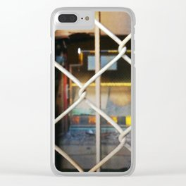 Abandoned X Clear iPhone Case