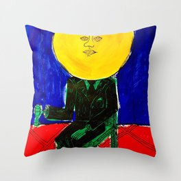 Sir/Madam Pompadour - Pop Art Surrealism Throw Pillow