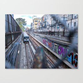 Graffiti 'L' Canvas Print