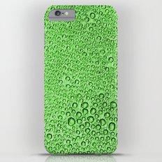 Water Condensation 05 Green iPhone 6 Plus Slim Case