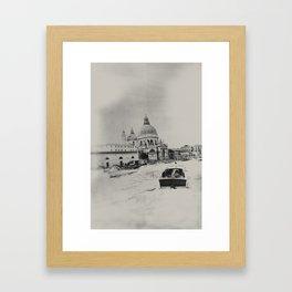 Venice - Study 255 Framed Art Print