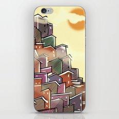 Urban Tetris#3 iPhone & iPod Skin