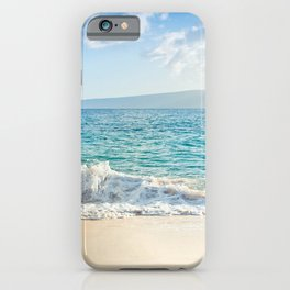 Oneloa Big Beach Makena Maui Hawaii iPhone Case