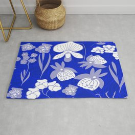 Orchids in the Night Rug