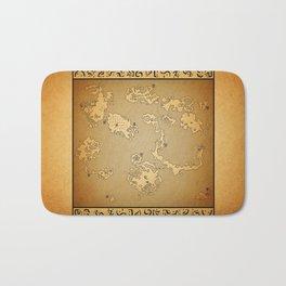 FF6 world of Ruin Bath Mat