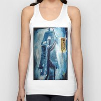 peter pan Tank Tops featuring Peter Pan by ANoelleJay