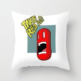 pill Throw Pillow