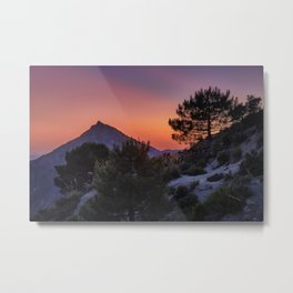 Boca de la pesca mountain. 1.518 meters. Sierra Nevada National Park Metal Print