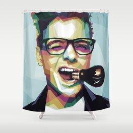 Dutch DJ Shower Curtain