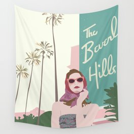 Beverly Hills Wall Tapestry
