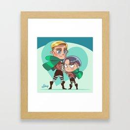Clutch Framed Art Print