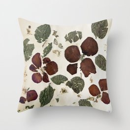 Roses Are Dead Throw Pillow