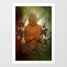 silence -8- Art Print