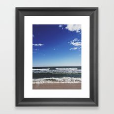 Cupsogue Beach, Long Island Framed Art Print