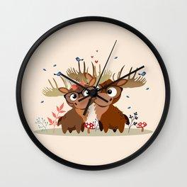 Caribous Wall Clock
