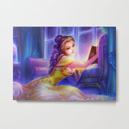 Sleepless Nights-Belle Metal Print