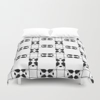 terrier Duvet Covers featuring Terrier by Janae Hall