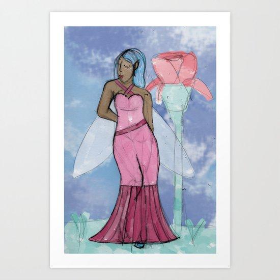 Fae Art Print