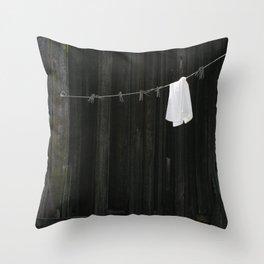 Clothesline Throw Pillow
