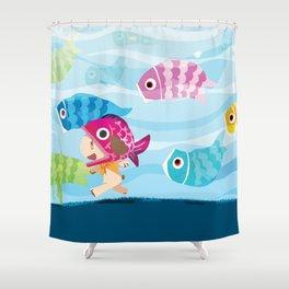 Tango no Sekku 2014 Shower Curtain