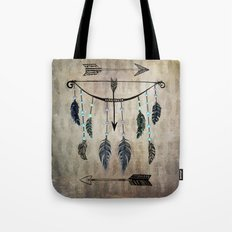 Bow, Arrow, and Feathers Tote Bag